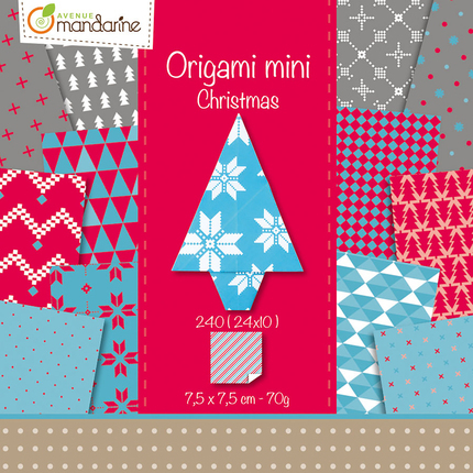 Origami mini Christmas 7,5cm